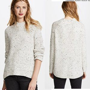 Madewell S Donegal Karen Mock Neck Sweater